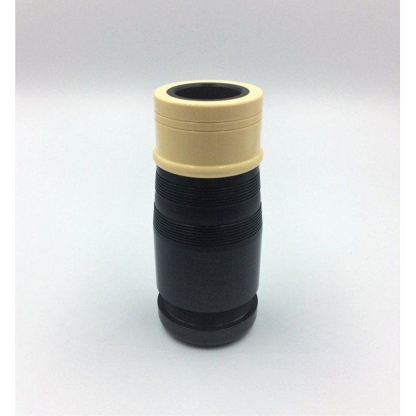 Blowpipe Stock with Imitation Ivory Ferrule