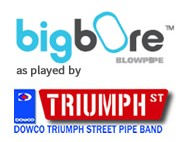 Big Bore as played by the Triumph St Pipe Band