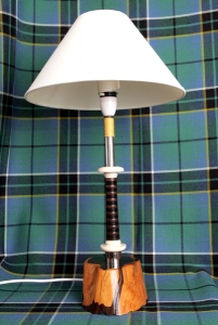 Bass Drone Bottom Joint Table Lamp